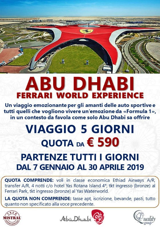 ABU DHABI – FERRARI WORLD EXPERIENCE